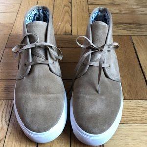 Cream Tory Burch sneakers